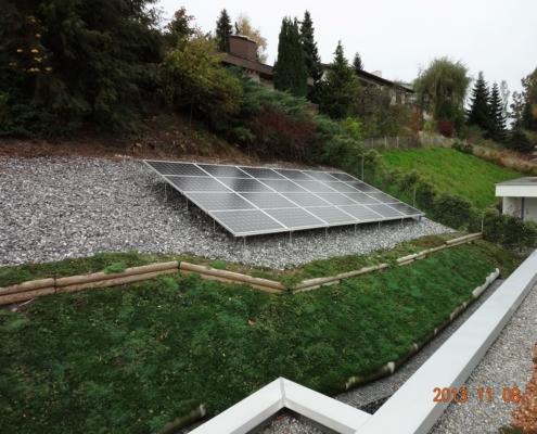 Photovoltaik im Freiland - Referenz