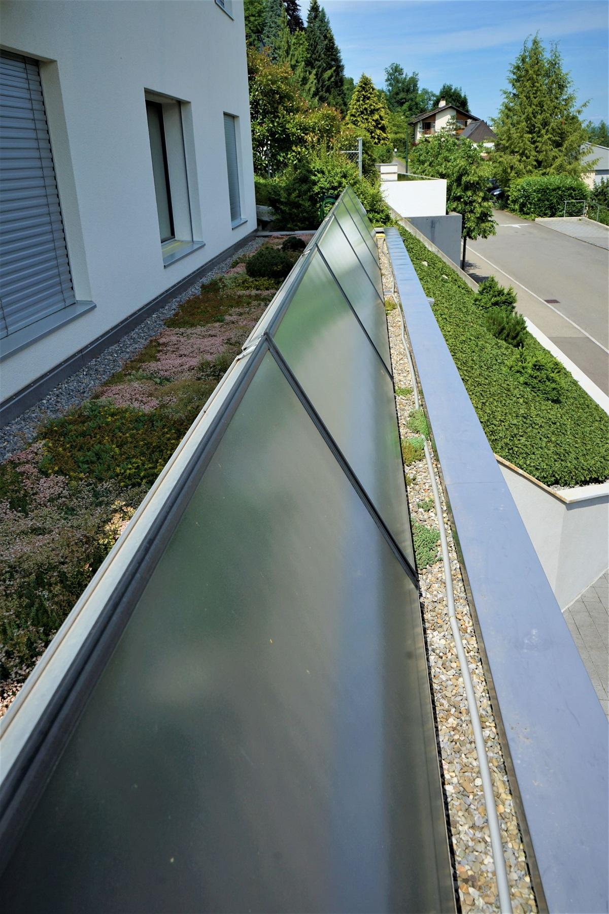 Thermische Solarterrasse - Referenz