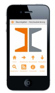Bauratgeber-App Smartphone iPhone und Android