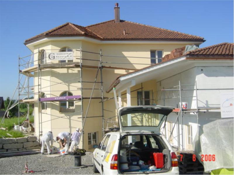 Einfamilienhaus Beinwil: Unstimmigkeiten klären